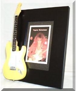 YNGWIE MALMSTEEN guitarra en miniatura marco de fotos
