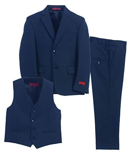 Suit For Kids (Gioberti Boy's Formal 3 Piece Suit Set, Royal Blue, Size)