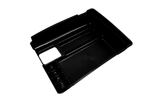 Vesul Armrest Secondary Storage Box Glove Pallet Center Console Tray Compatible with Nissan Rogue 2014 2015 2016 2017 2018 2019