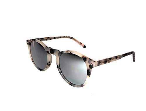 Rebel Optic Women's Sunglasses - Designer Sunglasses with Mirrored Lenses (Blonde Tortoise, - Sunglasses Womens Blonde