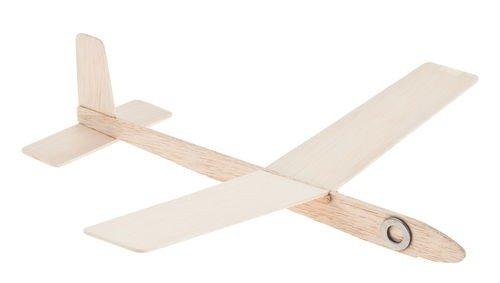 Balsa-Gleiter Flugzeug Segler 360 mm Bausatz f. Kinder Werkset Bastelset ab 10 Jahren