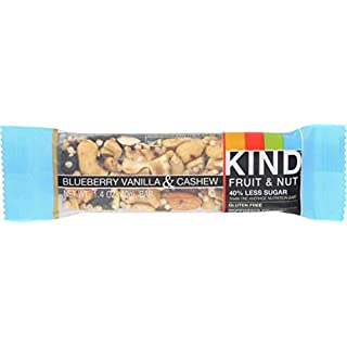 KIND Bar, Fruit & Nut, Blueberry Vanilla & Cashew, 1.4oz 1 count