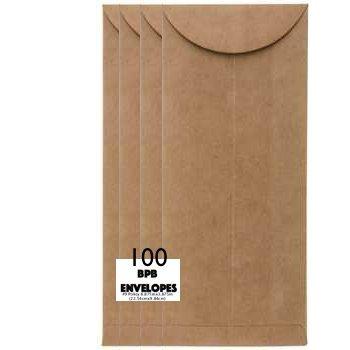 Política de Kraft sobres de papel reciclado marrón bolsa ...
