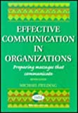 Effective Communication in Organisation, Stevenson, Wayne and Fielding, M., 0702142360