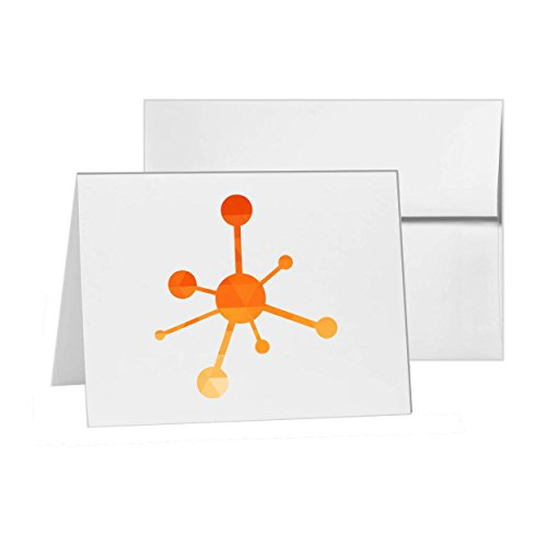 Network Online Networking Internet Connectivity, Blank Card Invitation Pack, 15 cards at 4x6, Blank with White Envelopes Style 14091