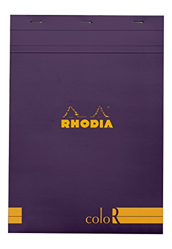 Rhodia ColorR Pad Lined 8.25X11.75 Violet