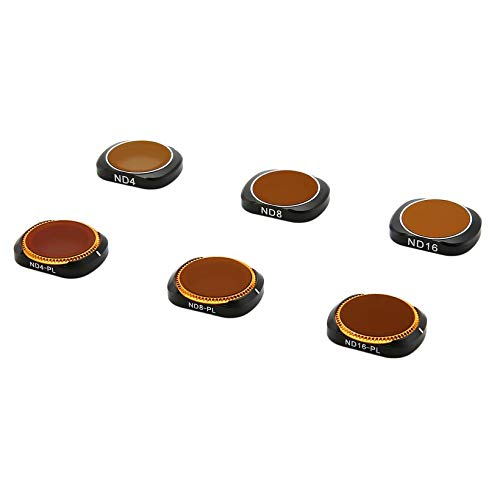 Wikiwand 6PC ND4+ND8 +ND16+ND4-PL+ND8-PL+ND16-X Camera Lens Filters for OSMO Pocket by Wikiwand (Image #5)