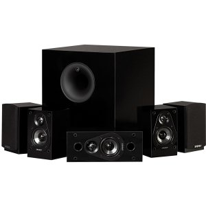 Electronics : Energy 5.1 Take Classic Home Theater System (Set of Six, Black)