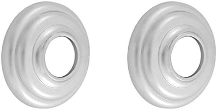 Polished Brass Jaclo 6203-PB Pair of Decorative Shower Bar Flanges