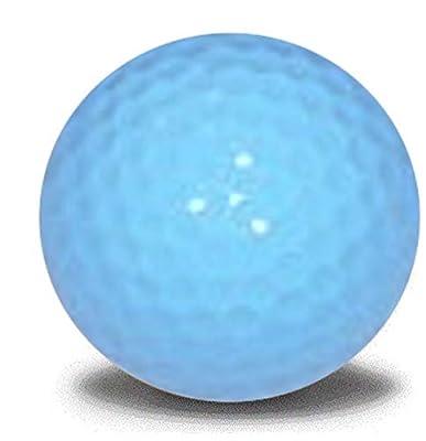 Light Blue Golf Balls 12 Pack
