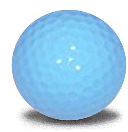 Light Blue Golf Balls 12 Pack]()