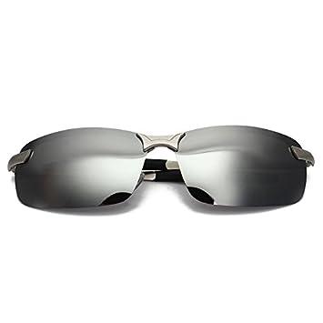 Lunettes de soleil polarisees - SODIAL (R)Mode Polarized Sunglasses Driving Anti-Glare Sports de plein air UV Lunettes Jaune Hommes Jhs9TIEA