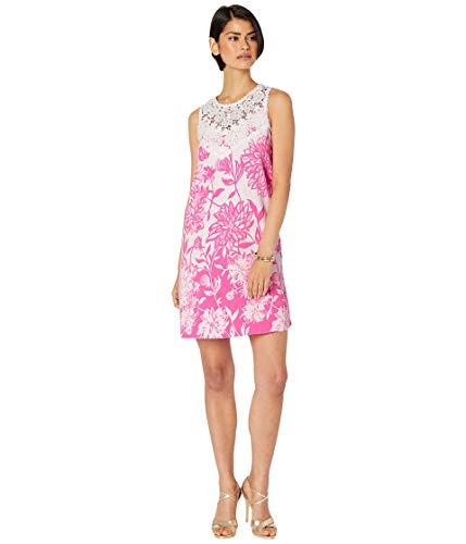 - Lilly Pulitzer Women's Nala Soft Shift Resort White Caliente Engineered Dress 10