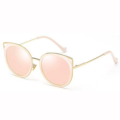 De xin Clásico Gafas Marco 5 De Lujo Moda 2 Metal De Sra Sol Retro Gato WX Color Personalidad Gafas BgdtRRx
