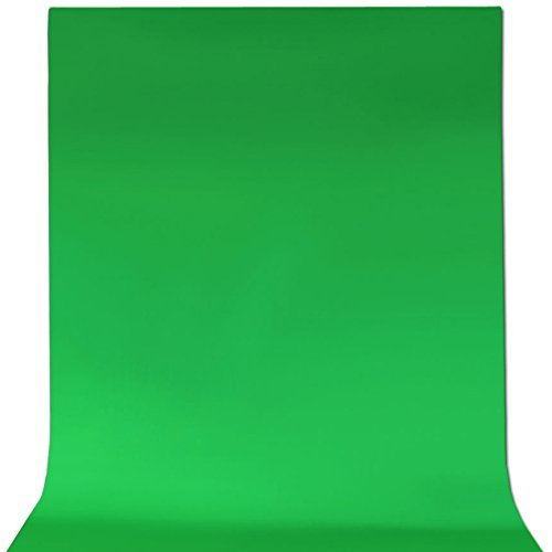 ePhotoInc 6 x 9 Feet Cotton Chromakey Green Screen Muslin Backdrop Photo Photography Background G69 from ePhoto