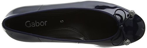 Gabor Shoes Women's Basic Ballet Flats Blue (Marine) new styles cheap online cheap great deals sale good selling new for sale geniue stockist for sale za9X8nQ
