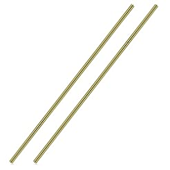 1/4 Inch Brass Round Rod, Favordrory 2PC...