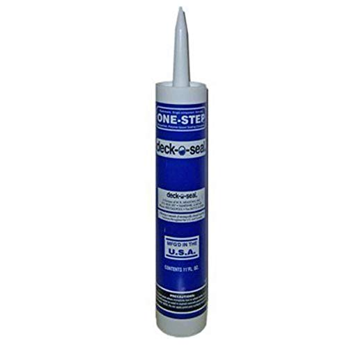 Deck-o-Seal One-Step Joint Caulking Cartridge - 11 Oz. (Gray)
