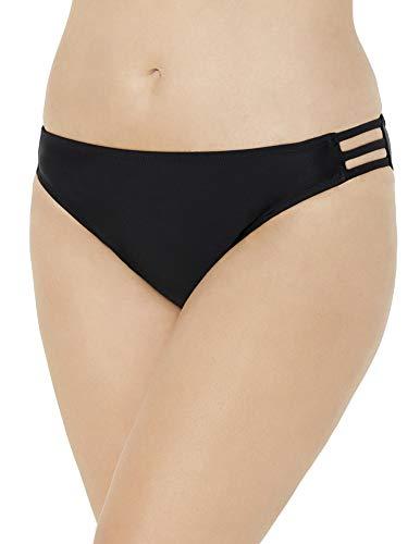 Swimsuits For All Women's Plus Size String Bikini Brief 20 Black