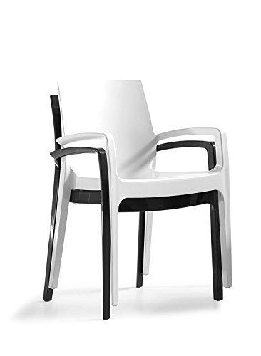 LEBER 2 x sillón MANEL diseño en Resina Ideal terrazas y ...