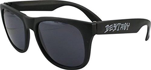 Thrasher Magazine Skate And Destroy Black - Skate Sunglasses