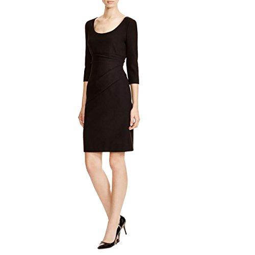 diane-von-furstenberg-womens-lillian-ruched-wear-to-work-dress-black-0