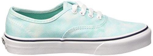 Kinder Vans Dye Top Authentic Unisex tie turquoise Low Grün Rxww154Uq