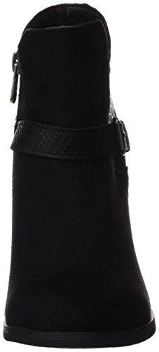 Noir Refresh Bleu 063633 Black Bottines black Marine Femme qzqXU
