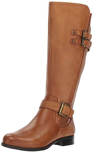 Naturalizer Women's Jessie Wide Calf Knee High Boot, Banana Bread wc, 7 M ()
