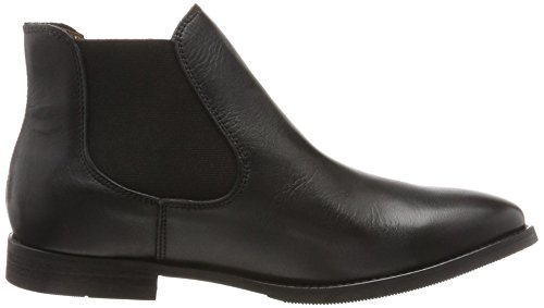 SELECTED FEMME Sfbeathe Leather Boot Noos, Stivali Chelsea Donna nero