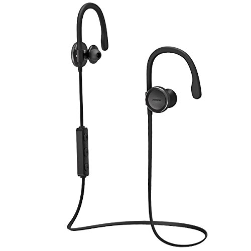 Mpow Headphones Adjustable Sweatproof Workout Black product image