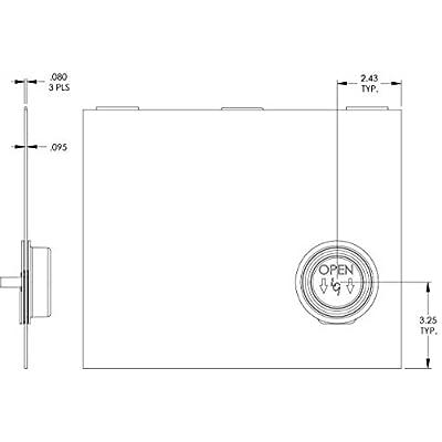 Lippert 239061 Screen Door Slider Panel with Push-Down Knob Opener 12