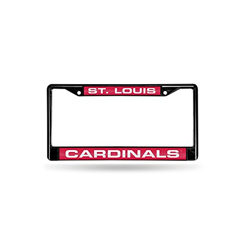 St. Louis Cardinals Official MLB 12 inch x 6 inch Metal License Plate Frame