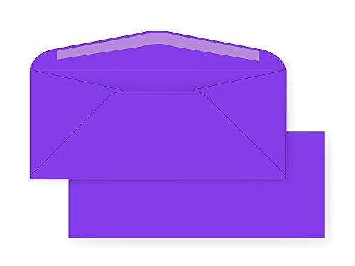 - #10 Regular Envelope - Astrobright - 24# Venus Violet (4 1/8 x 9 1/2) - Business Color Series (Box of 500)