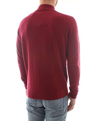 Klein K10k102736 Tricot Calvin Rouge Homme 40UBwwdqW