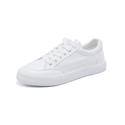 uk6 White Basse Autumn colore Small Sconosciuto Surface Shoes Spring Sneakers Eu39 Femminili Leather White Ff Size Student cn39 q8Ra4