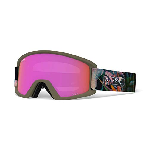 Giro Dylan Womens Snow Goggles Electric Petal - Amber ()