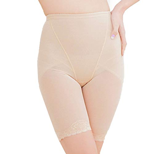 Dainzuy Shapewear Shorts for Women Tummy Control Spandex Compression Bodysuit Power High-Waist Panty Mid-Thigh Body Shaper Khaki