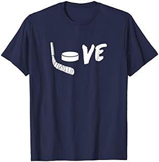 Birthday Gift Love Hockey - Ice Hockey  & Gift For Hockey Fans Short and Long Sleeve Shirt/Hoodie