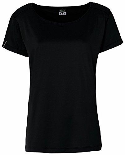 Erima Feel Green - Camiseta deportiva para mujer negro - negro