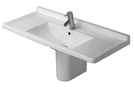Duravit D1902000 Starck 3 Furniture Washbasin, Alpine White