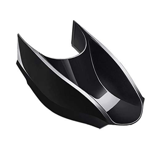 Tmand para Mercedes Nuevo Smart 453 Fortwo Forfour Reposabrazos Centro Caja Central Control Caja de Almacenamiento de Engranajes Accesorios de Dise?O de Autom/óViles Negro