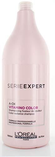 Shampoo Loreal Color (Loreal Professionnel Serie Expert Vitamino Color A-OX Shampoo, 50.7 Fluid Ounce)