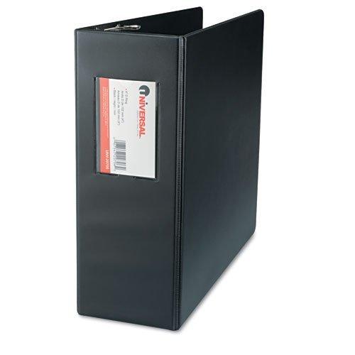 Print Wont Stick D-ring - Universal D-Ring Binder, Black (UNV20706PP)