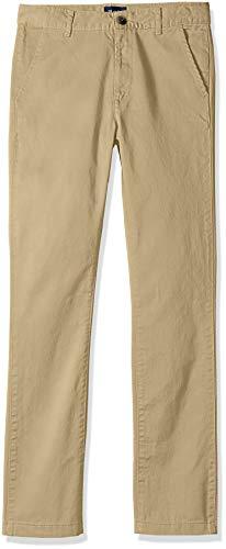 Uniform Chino - The Children's Place Big Boys' Skinny Uniform Chino Pants, Flax, 8H