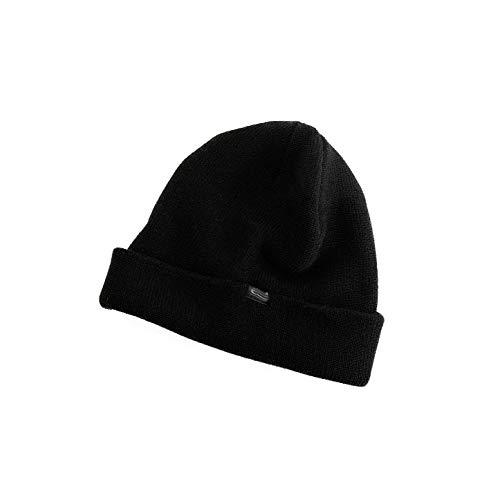 Heat Thermal Térmico El Rexa Sombrero Para Hombre Black Código Hat Negro De Thinsulate Inulated negro Invierno todo yqw4R086q