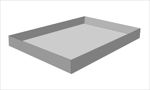 Strobel Organic Waterbed Stand Up Liner King