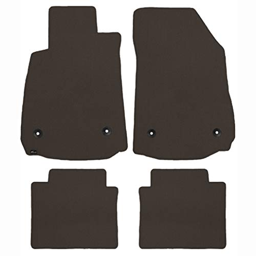 (Brightt (MAT-JMC-830) 4 Pc Car Floor Mat Set - Brown - compatible for 1998-2005 Lexus GS300 (1998 1999 2000 2001 2002 2003 2004 2005 | 98 99 00 01 02 03 04 05))