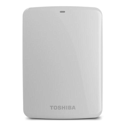 (Old Model) Toshiba Canvio Connect 2TB Portable Hard Drive, White (HDTC720XW3C1)