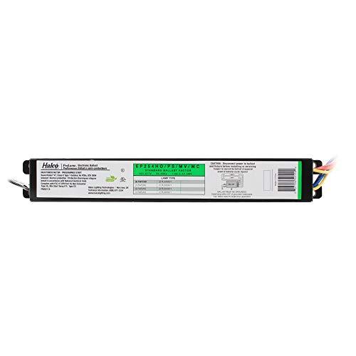 Halco EP254HO/PS/MV/MC Fluorescent Ballast, 2-Lamp, 54W T5/HO, F54T5HO, 120/277V